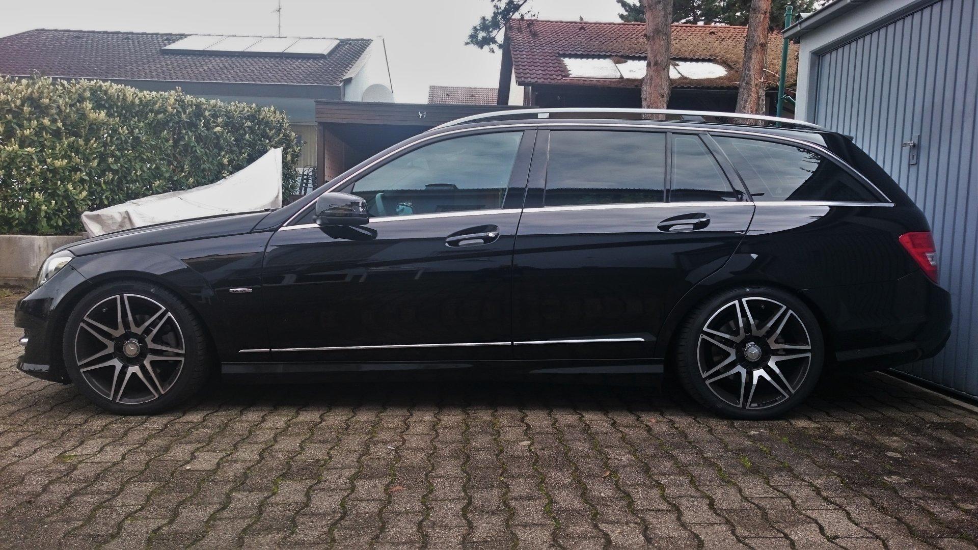 C200 Eibach Federn Pro-Kit Mercedes C-Klasse Limousine W204  C180 C250