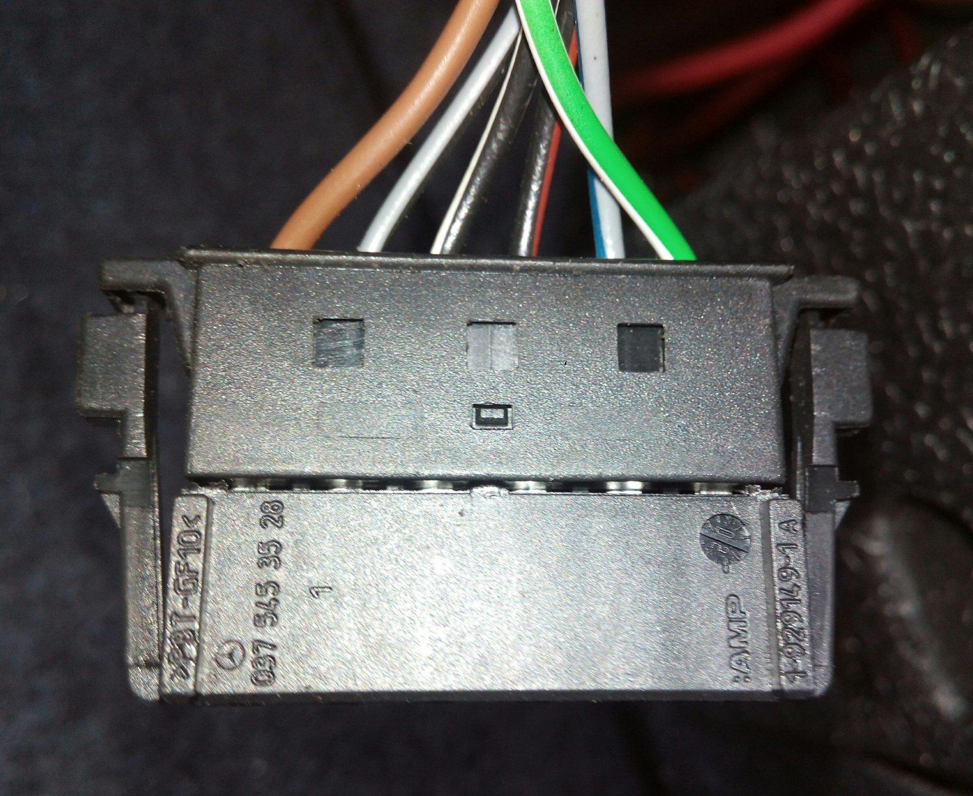 CL203 - Hilfe kabelbelegung Rücklicht