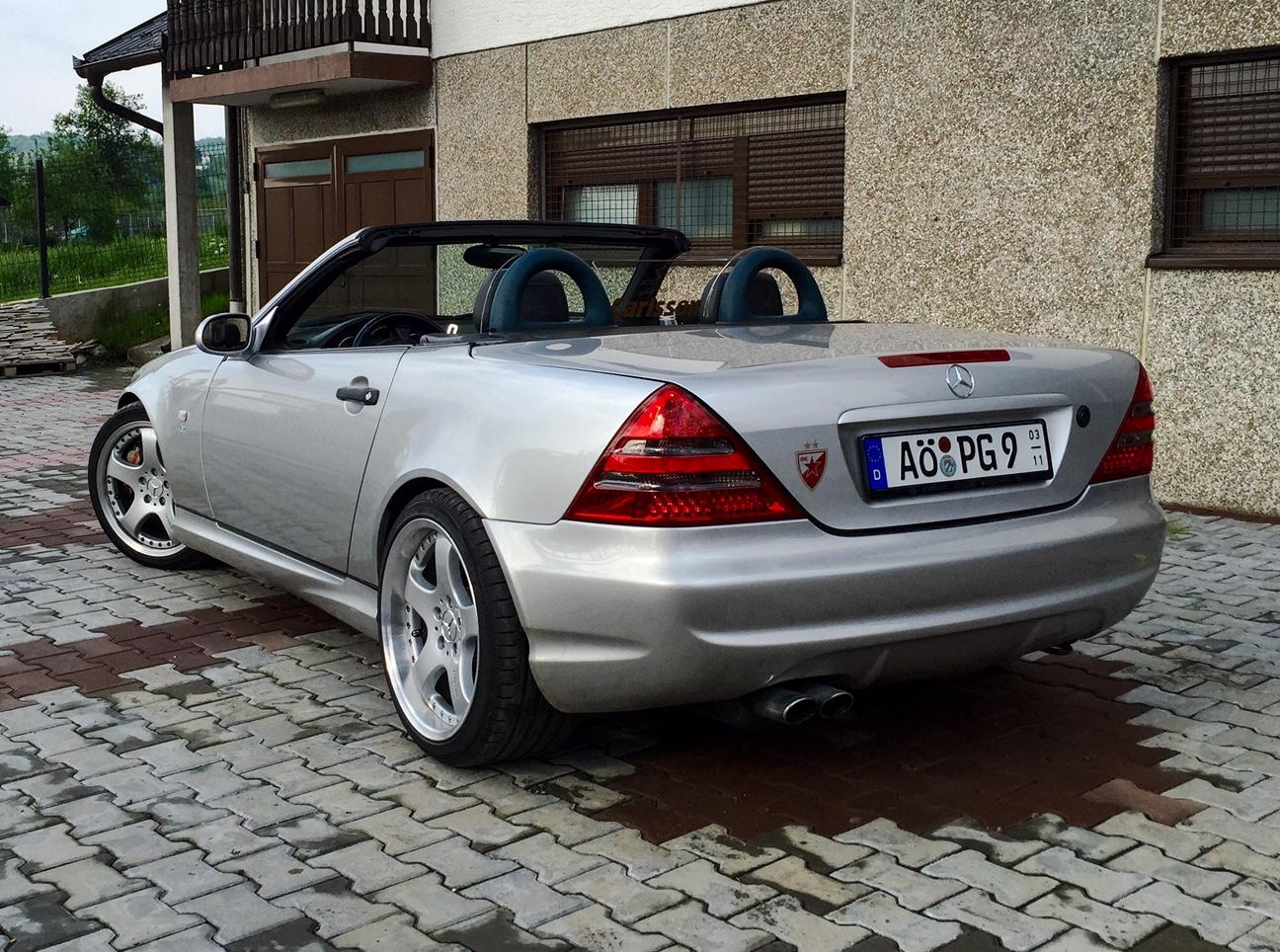Mercedes Slk  Kompressor Auspuff
