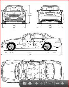 Fahrzeugbreite inc au enspiegel for Breite golf 6 mit spiegel